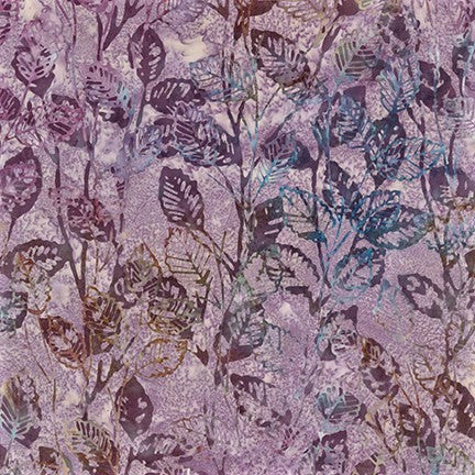 Kaufman Artisan Batiks Inspired By Nature 19177 220 Pansy Growing Leaves By The Yard