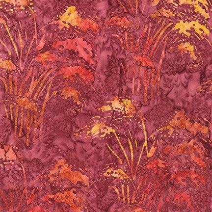 Kaufman Artisan Batiks Inspired By Nature 19178 92 Terracotta Fountain Grass By The Yard