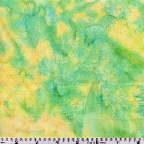 Anthology Batik Lava Basics 1927 Spring Buttercup Meadow Watercolor By The Yard