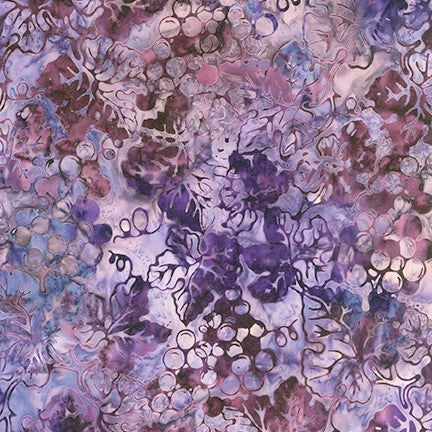 Kaufman Impressions Of Tuscany 2 Artisan Batiks 19433 6 Purple On The Vine By The Yard