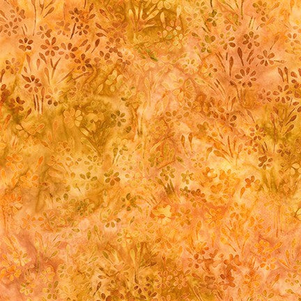 Kaufman Impressions Of Tuscany 2 Artisan Batiks 19435 196 Harvest Flowering Field By The Yard