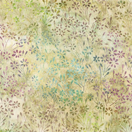 Kaufman Impressions Of Tuscany 2 Artisan Batiks 19435 238 Garden Flowering Field By The Yard