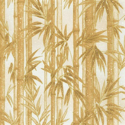 Kaufman Imperial Collection 16 - 19509 15 Ivory Snow Bamboo By The Yard