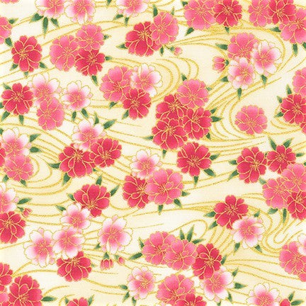 Kaufman Imperial Collection 16 - 19512 192 Spring Blossoms Floating By The Yard