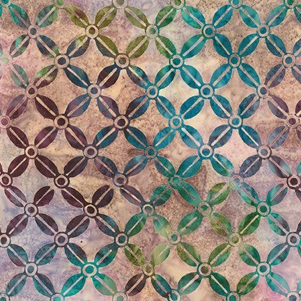 Kaufman Artisan Batiks Modern Twist 19755 238 Garden Fancy Trellis By The Yard