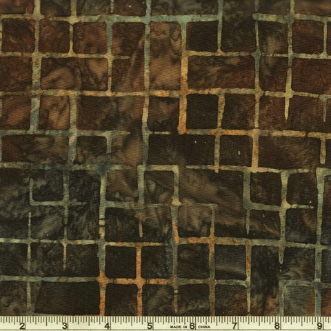 Kaufman Artisan Batiks Pattern Play 19770 435 Overcast Grid Work By The Yard