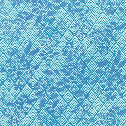 Kaufman Artisan Batiks Azula 19775 61 Periwinkle Mountain Foliage By The Yard