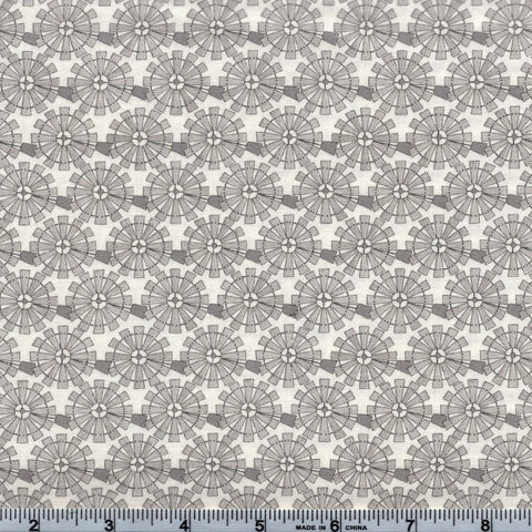 Moda Fabrics Homegrown 19823 11 Windmill Heads On Cream By The Yard