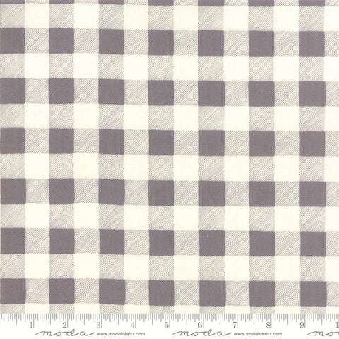 Moda Hearthside Holiday 19836 11 Slate Buffalo Plaid By The Yard