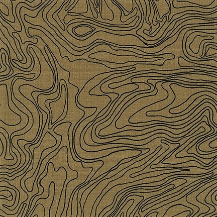 Kaufman Collection CF Neutral Colorstory 19931 16 Brown Topography By The Yard