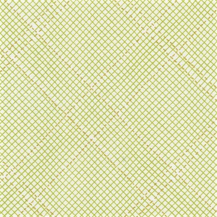 Kaufman Collection CF Metallic Neutral Colorstory 19932 7 Green Grid Plaid By The Yard
