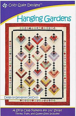 Cozy Quilt Designs Pattern - HANGING GARDENS