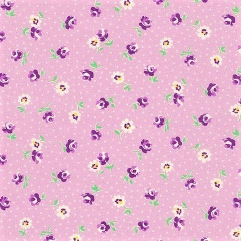 Kaufman Darlene's Favorites 20071 23 Lavender Floral Toss By The Yard