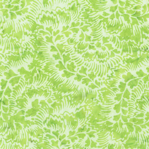 Anthology Bali Batiks 2009Q 5 Pea Feathered Leaves By The Yard