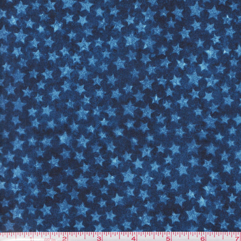 Northcott Stars & Stripes 20160 49 Navy Blue Stars by the yard