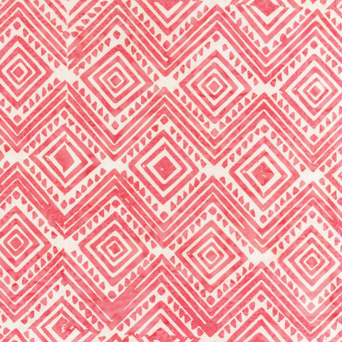 Anthology Batik Mary Inman 2031Q X Pink Diamond By The Yard