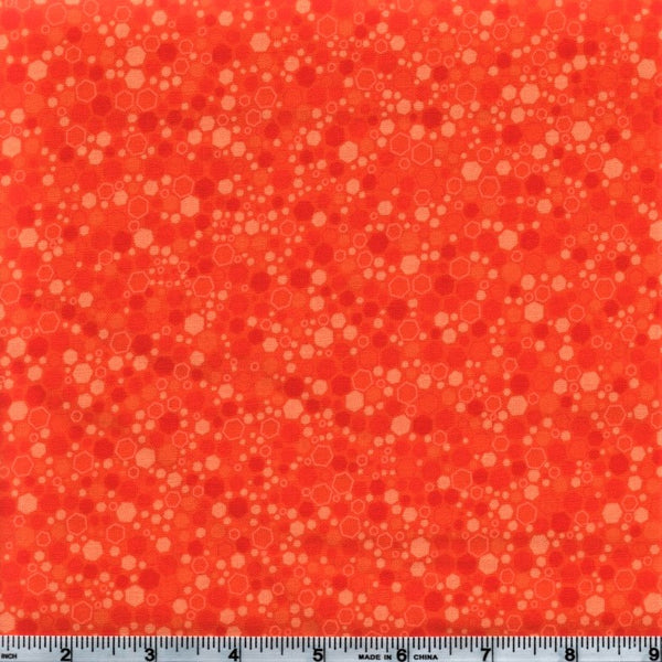 RJR Fabrics Basically Patrick 2034 3 Carrot Hexagons By The Yard