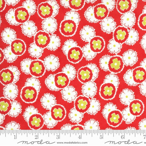 Moda Figs Shirtings 20392 13 Barn Red Jelly & Jam By The Yard