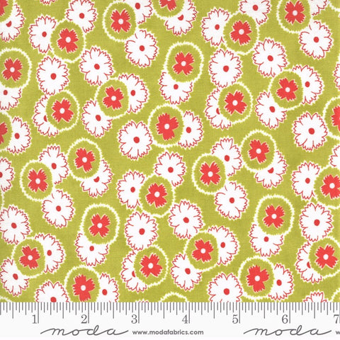 Moda Figs Shirtings 20392 15 Meadow Jelly & Jam By The Yard
