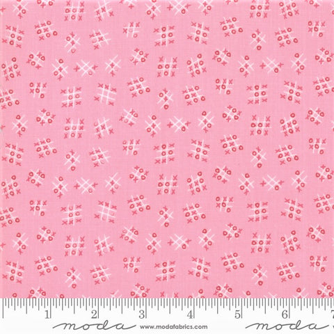 Moda Best Friends Forever 20628 12 Tic Tac Toe Pink By The Yard