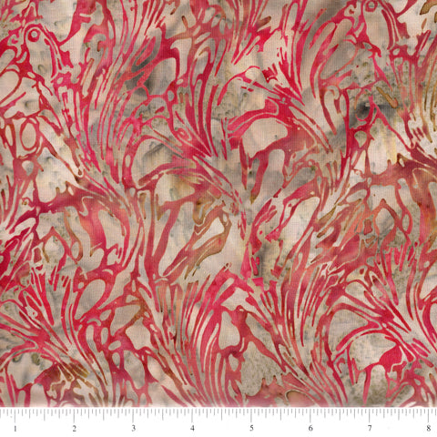 Hoffman Bali Batiks 2062 646 Canyon Abstract Seaweed By The Yard