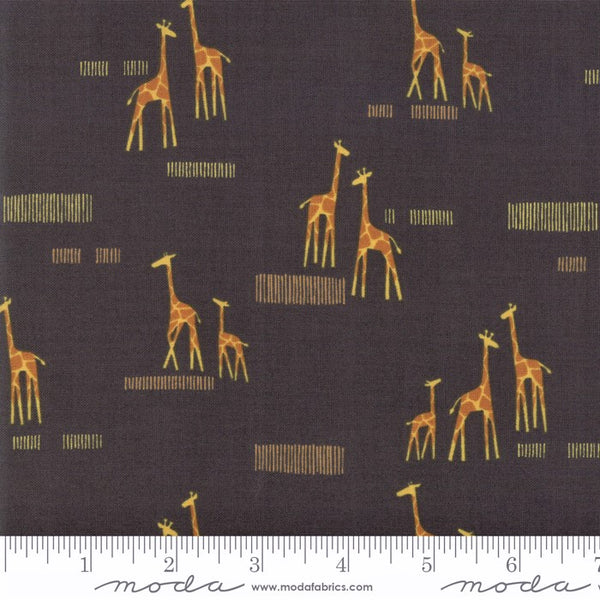 Moda Safari Life 20647 15 Black Giraffe Life By The Yard