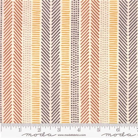 Moda Safari Life 20648 11 Cream African Art Stripe By The Yard