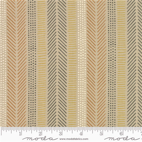 Moda Safari Life 20648 12 Khaki African Art Stripe By The Yard