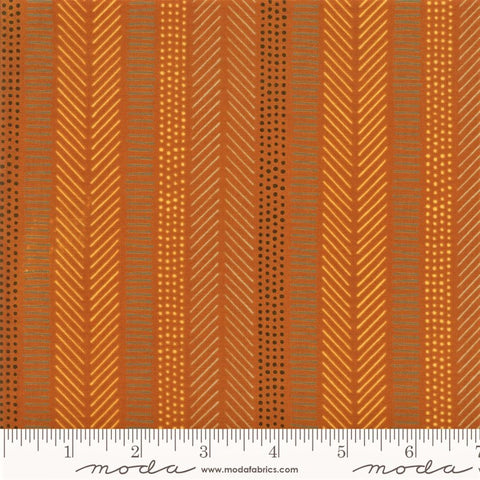 Moda Safari Life 20648 17 Amber African Art Stripe By The Yard