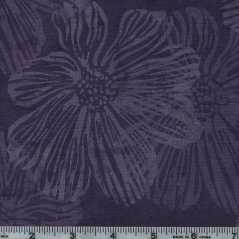 Hoffman Bali Batik 2082 14 Purple Hibiscus By The Yard