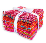 Kaffe Fassett VIDEO BUNDLE Quilt Kit - I {Heart} You! - Includes Fat Quarters