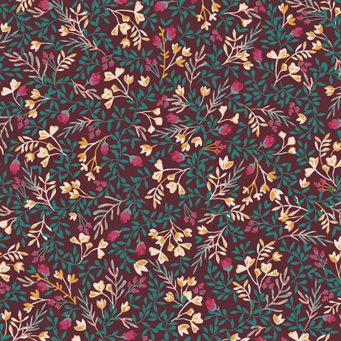 Art Gallery Fabrics Fusion 2103 Floral No. 9 Foresta By The Yard