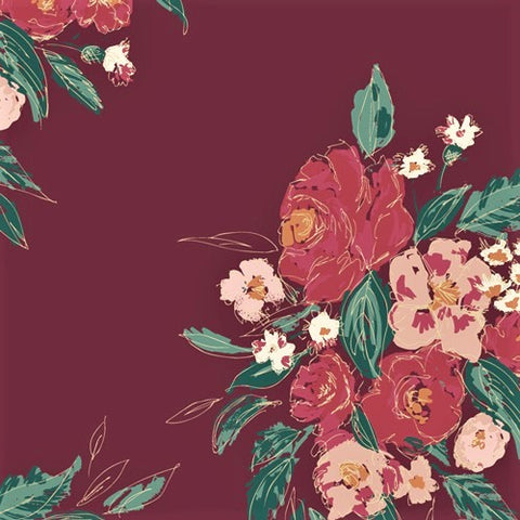 Art Gallery Fabrics Fusion 2105 Extempore Foresta By The Yard