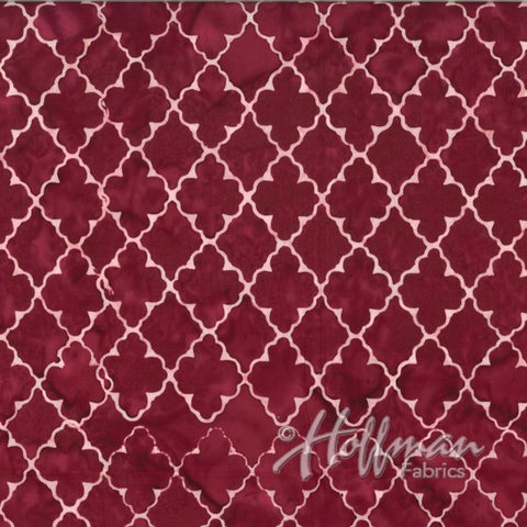 Hoffman Bali Batik 2117 143 Ruby Fleur Diamonds By The Yard