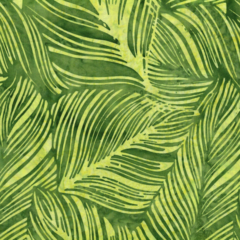 Hoffman Bali Batiks 2138 334 Peter Green Rubber Fig Leaves By The Yard