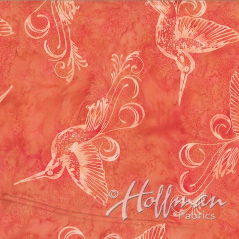 Hoffman Bali Batik 2149 592 July Hummingbirds By The Yard