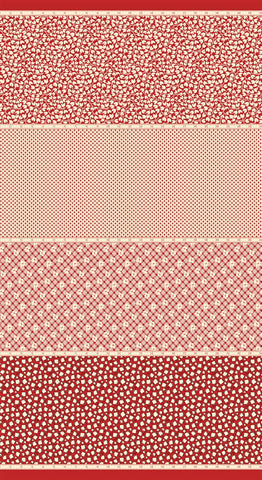 Moda Bubble Pop 21760 11 Red Four In One By The Yard