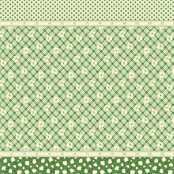 Moda Bubble Pop 21760 14 Green Four In One By The Yard
