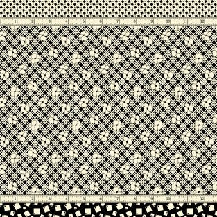 Moda Bubble Pop 21760 18 Black Four In One By The Yard