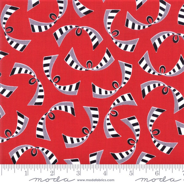 Moda Bubble Pop 21764 12 Red Ribbons By The Yard