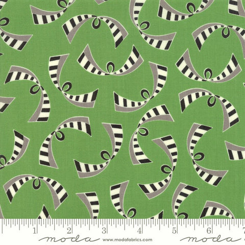 Moda Bubble Pop 21764 15 Green Ribbons By The Yard