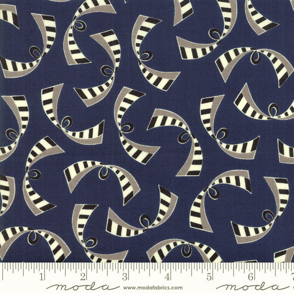 Moda Bubble Pop 21764 16 Navy Ribbons By The Yard