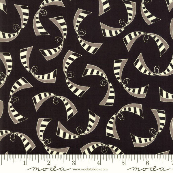 Moda Bubble Pop 21764 19 Black Ribbons By The Yard