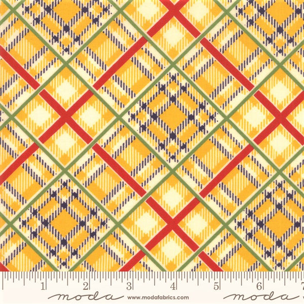 Moda Bubble Pop 21765 13 Yellow Bias Plaid By The Yard
