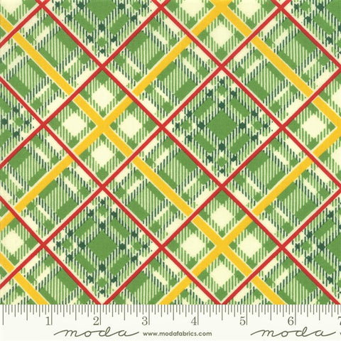 Moda Bubble Pop 21765 14 Green Bias Plaid By The Yard