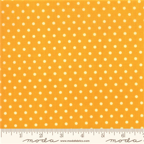 Moda Bubble Pop 21766 21 Yellow Reproduction Dots By The Yard