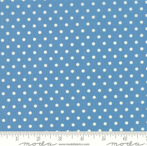 Moda Bubble Pop 21766 24 Blue Reproduction Dots By The Yard
