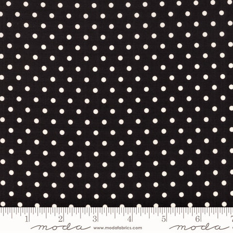 Moda Bubble Pop 21766 26 Black Reproduction Dots By The Yard