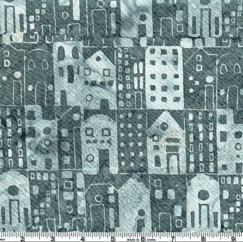 Hoffman Bali Batiks 2221 597 December Houses By The Yard