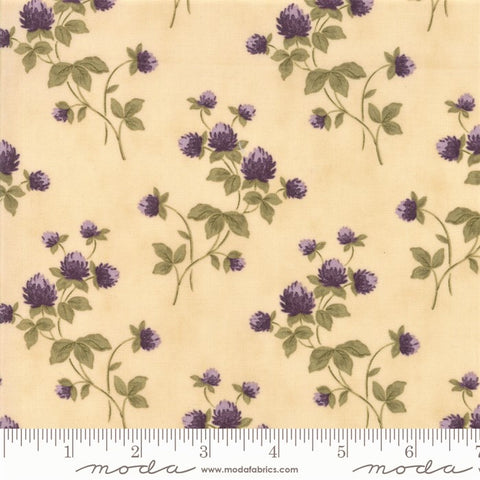 Moda Clover Meadow 2230 11 Ivory Clover By The Yard
